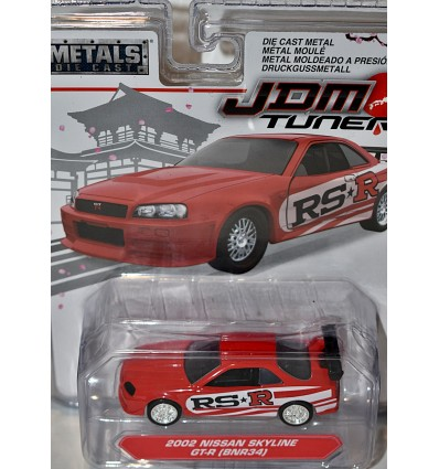 JADA - JDM Tuners - Nissan Skyline GT-R (BNR34)