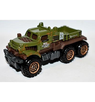 Matchbox - Dirty Mudder 6x6 Truck