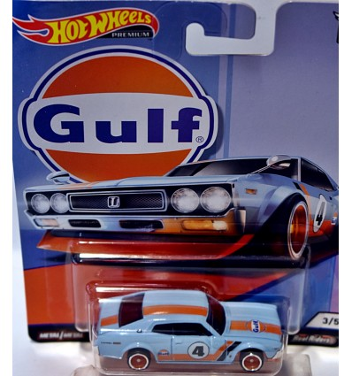 Hot Wheels Premium Gulf Racing Nissan Laurel 2000 GSX