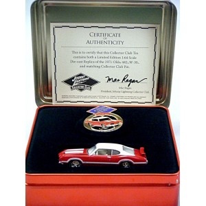 Johnny Lightning Limited Edition Club Member Oldsmobile 442 Promo