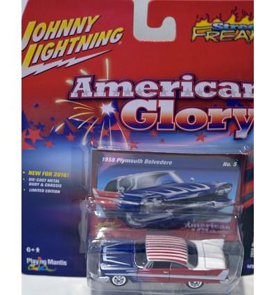 Johnny Lightning 1958 Plymouth Belvedere