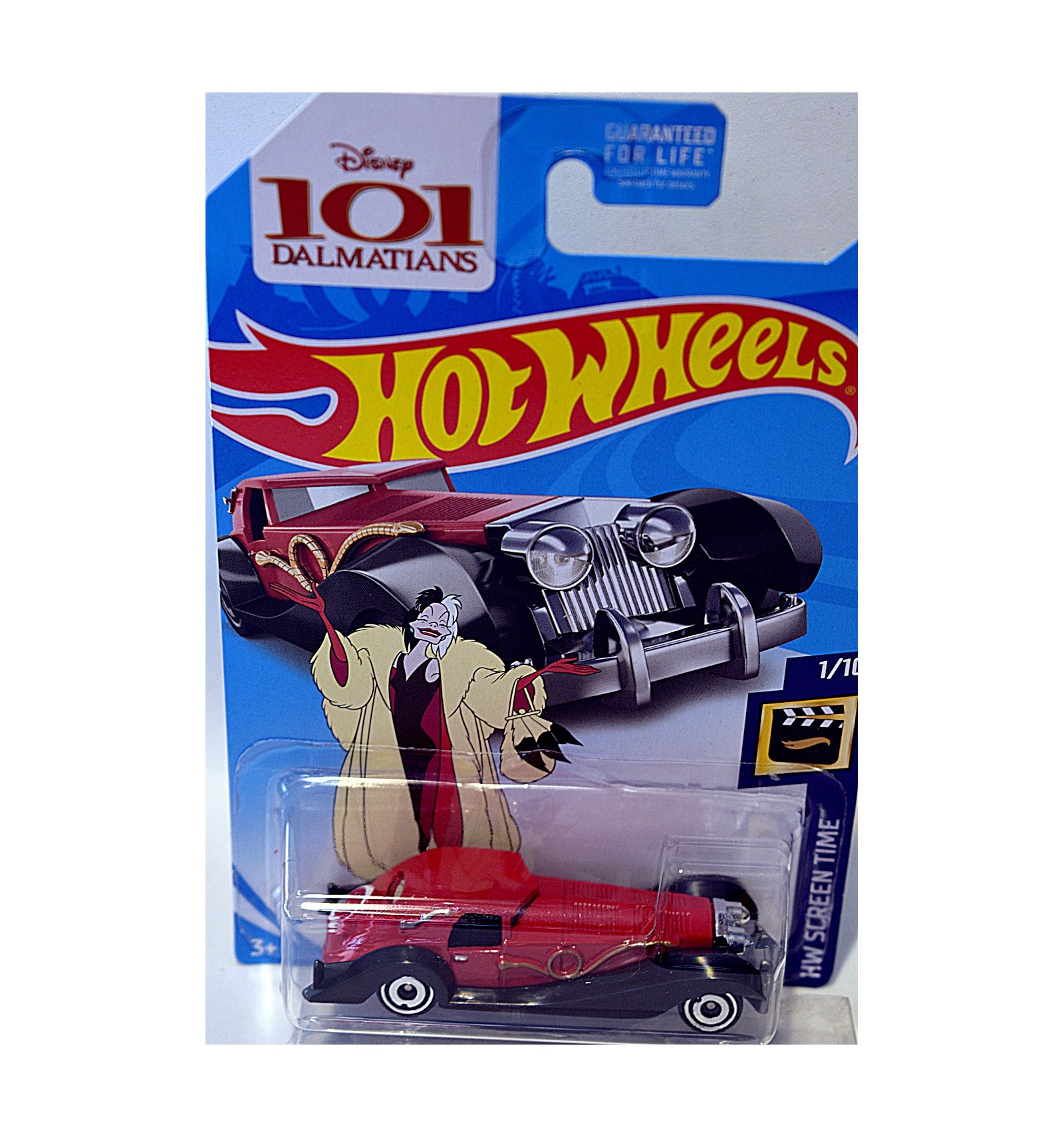 Hot Wheels Disney 101 Dalmatians Cruella Devil S 1930 S Cadillac