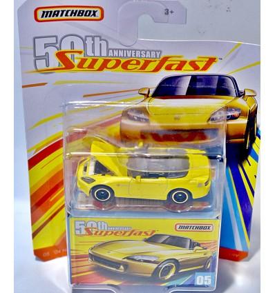 Matchbox 50th Anniversary Superfast - Honda S2000 Convertible