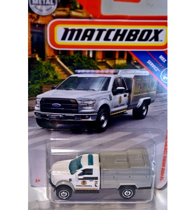 Matchbox - Ford F-150 Animal Control Truck