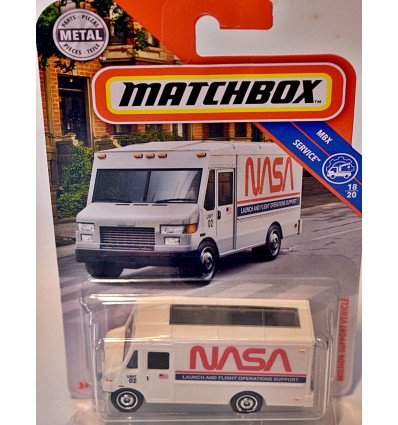 Matchbox - NASA Mobile Launch and Flight Operations Support Van