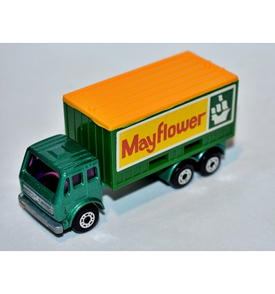 Matchbox - Mayflower Moving Co. Mercedes Benz Container Truck