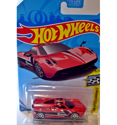 Hot Wheels - Pagani Huayra - Brembo