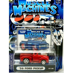 Muscle Machines 1956 Ford Pickup Truck