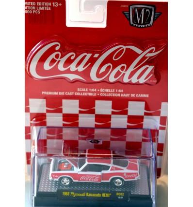 M2 Machines - Coca-Cola - 1968 Plymouth Barracuda Hemi