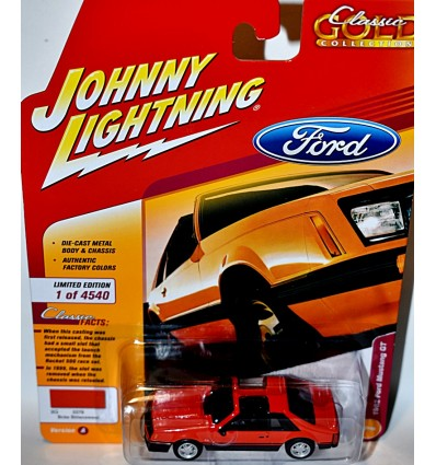 Johnny Lightning - 1982 Fox Bodied Ford Mustang GT