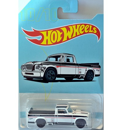 Hot Wheels American Pickup Trucks - 1963 Studebaker Pickup Truck