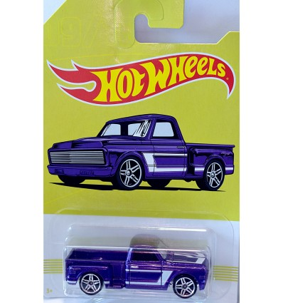 Hot Wheels American Pickup Trucks - 1969 Chevrolet Pickup Truck