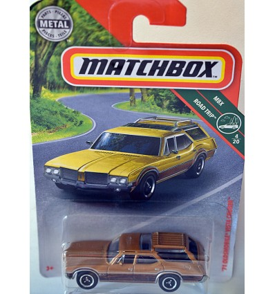 Matchbox 1971 Oldsmobile Vista Cruiser Station Wagon