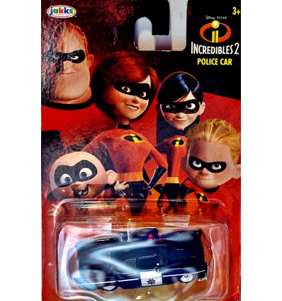 jakks Pacific - Incredibles 2 - 1958 Chevrolet Police Car