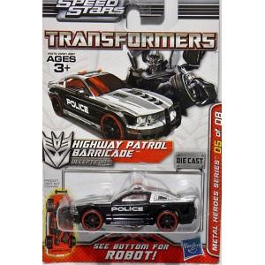 Hasbro Transformers Metal Heroes Series Ford Mustang Police Ca