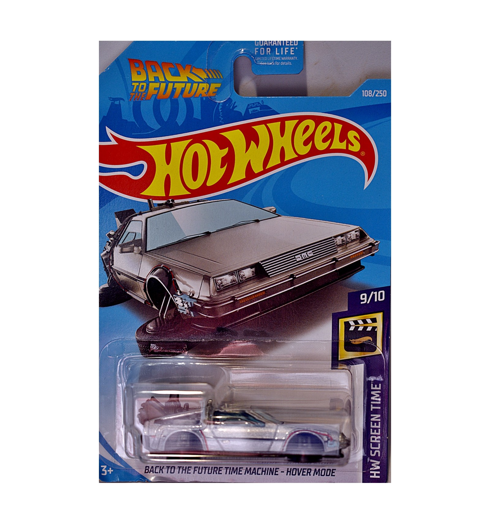 Hot Wheels Back to the Future Time Machine Delorean DMC-12 ...