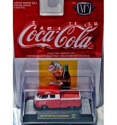 M2 Machines - Coca-Cola - 1960 Volkswagen Double Cab Pickup Truck - USA Model