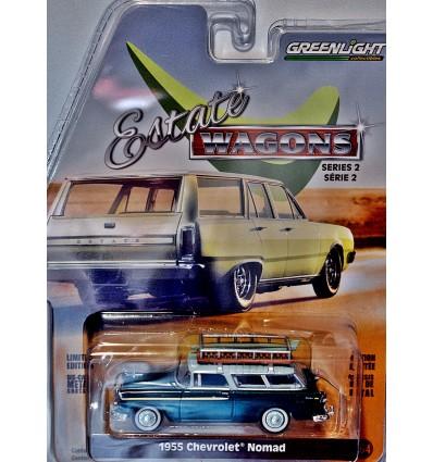 Greenlight - Estate Wagons - 1955 Chevrolet Nomad