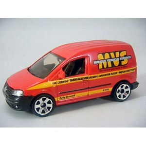 Matchbox Volkswagen Caddy Mobile Vehicle Services Van