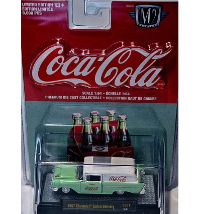 M2 Machines - Coca-Cola - 1957 Chevrolet Sedan Delivery