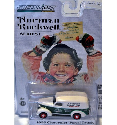Greenlight - Norman Rockwell - 1939 Chevrolet Mobile Dental Clinic Panel Truck