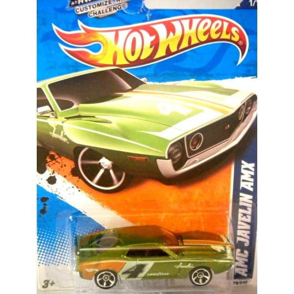 Hot Wheels American Motors Javelin AMX Muscle Car
