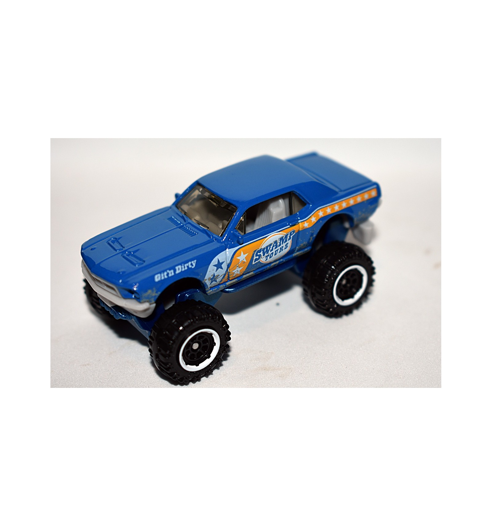 Matchbox redneck swamp tour ford mustang coupe 4x4