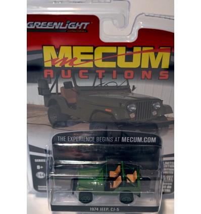 Greenlight Auction Block - Mecum - 1971 Chevrolet Cheyenne Pickup Truck