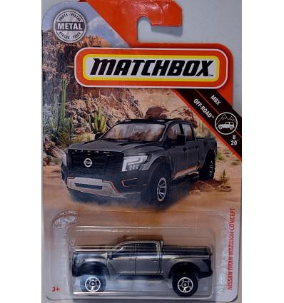 Matchbox Nissan Titan Warrior Pickup Truck