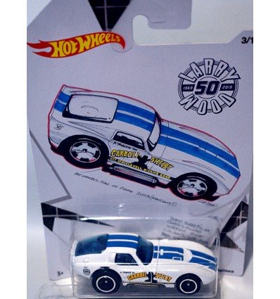 Hot Wheels Larry Wood 50th Anniversary set - Carroll Shelby Tribute Daytona Coupe