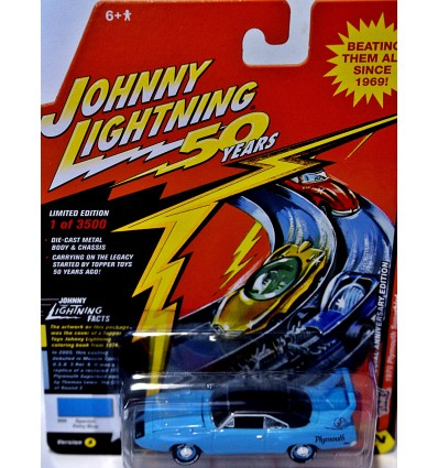 Johnny Lightning - 50 Years - 1970 Plymouth Superbird