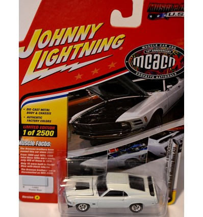 Johnny Lightning Muscle Cars USA - 1970 Ford Mustang Boss 429