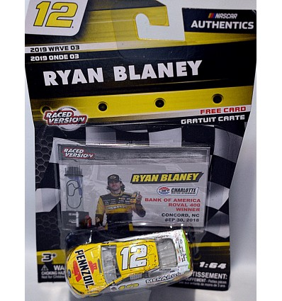 NASCAR Authentics - Ryan Blaney Pennzoil Ford Fusion