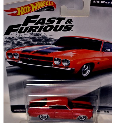 Hot Wheels Premium Fast & Furious 1970 Chevrolet Chevelle SS