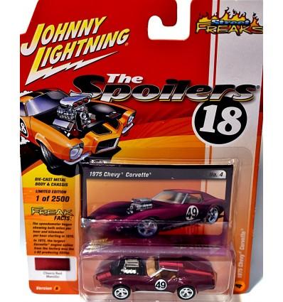 Johnny Lightning Spoilers 1975 Chevrolet C3 Corvette