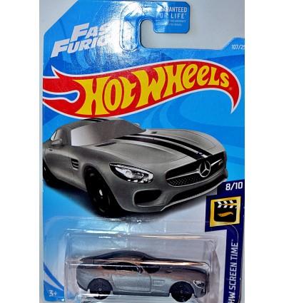 Hot Wheels - Mercedes-Benz AMG GT Fast & Furious Movie Car