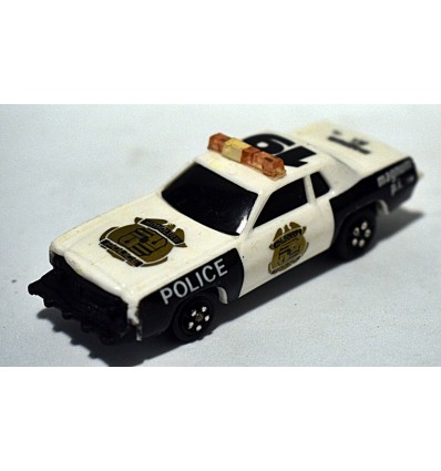 Kidco - Burning Key Car - Magnum PI Honolulu Police Dept Patrol Car