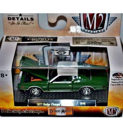 M2 Machines Detroit Muscle 1971 Dodge Charger SE 383