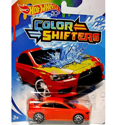 Hot Wheels - Color Shifters - Mitsubishi Lancer Evolution X