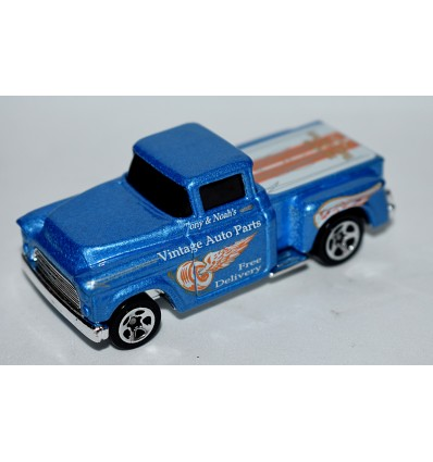 Hot Wheels - 1956 Chevrolet Flashsider Vintage Auto Parts Delivery Pickup Truck