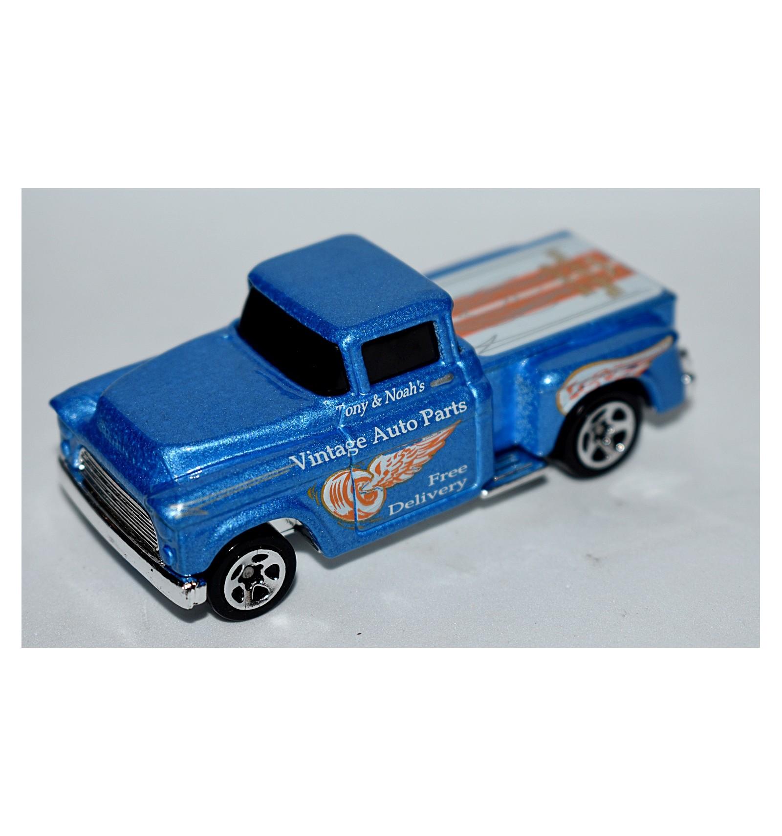Chevrolet Auto Parts >> Hot Wheels 1956 Chevrolet Flashsider Vintage Auto Parts Delivery Pickup Truck