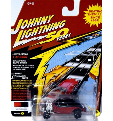 Johnny Lightning - 50th Anniversary - 1934 Ford Hot Rod Coupe