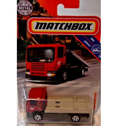 Matchbox MBX Flatbed King Tow Truck