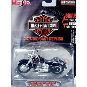 Maisto Harley-Davidson (1:24) 2000 FLSTF Fat Boy