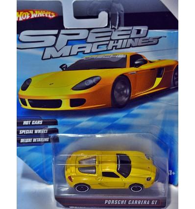 Hot Wheels Speed Machines Porsche Carrera GT