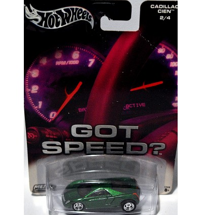 Hot Wheels Got Speed Cadillac Cien Coupe
