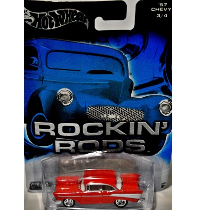 Hot Wheels Auto Affinity - Rockin' Rods - 57 Chevy Bel Air Hardtop