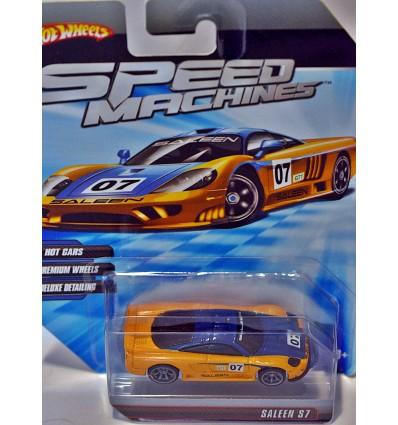 Hot Wheels Speed Machine Series - Saleen S7 Supercar