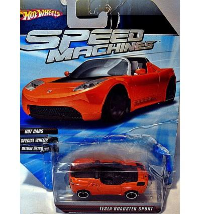 Hot Wheels Speed Machines Tesla Sports Car