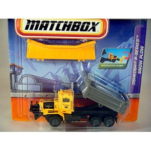 Matchbox Working Rigs Oshkosh P Series Snow Plow Global Diecast Direct